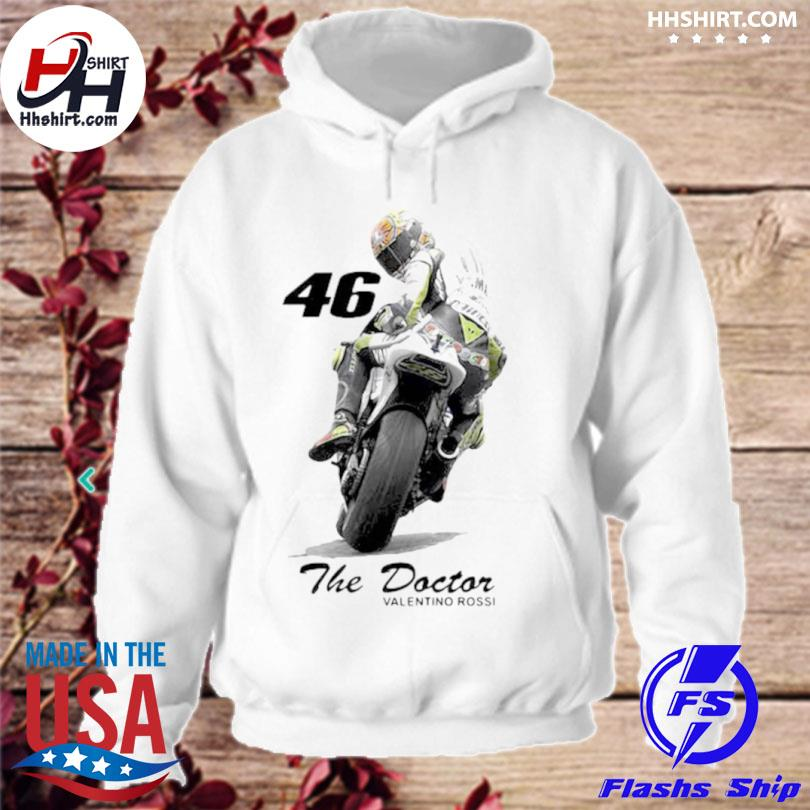 The doctor valentino rossi 46 hoodie