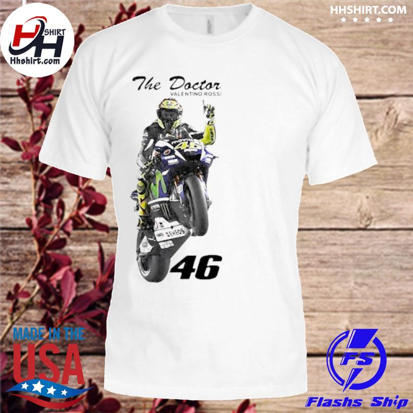 The doctor valentino rossi rossi 46 shirt