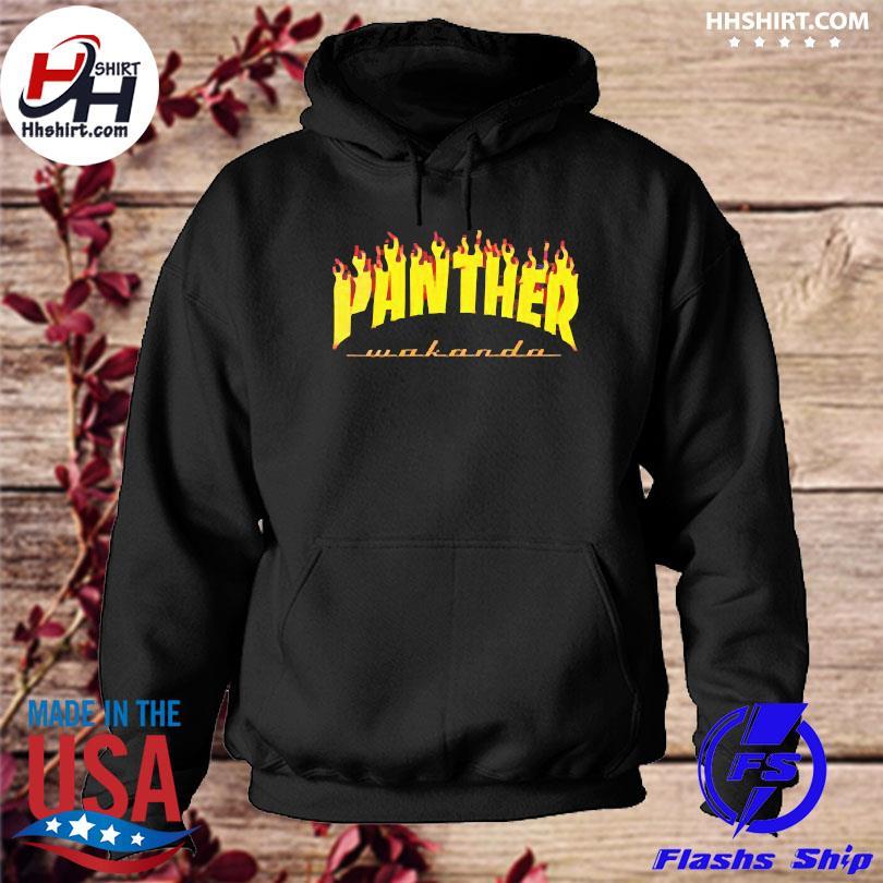 Thrasher black panther wakanda hoodie