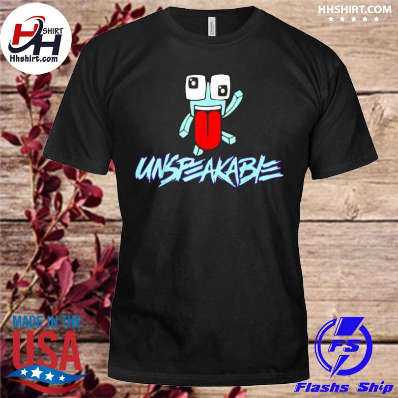 Unspeak design art able retro video game playing gaming shirt