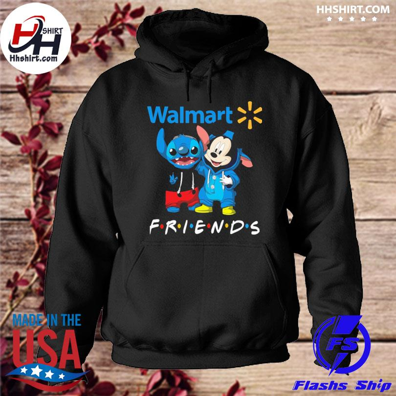 Baby Stitch and Mickey Mouse Walmart Friends hoodie
