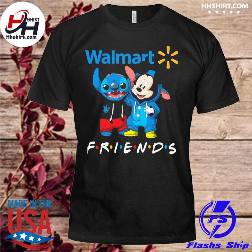 Baby Stitch and Mickey Mouse Walmart Friends shirt