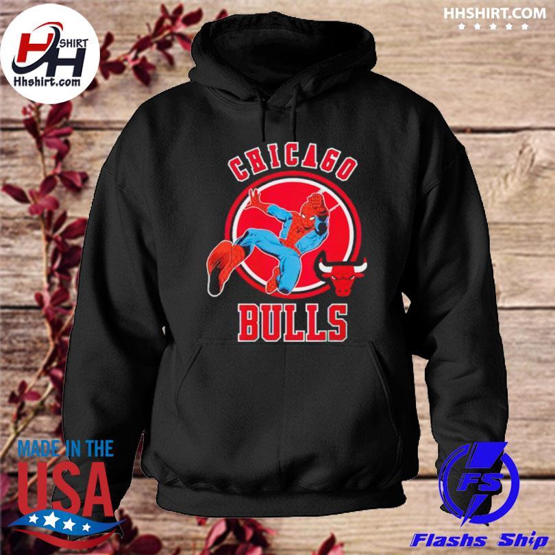 Chicago bulls logo hoodie