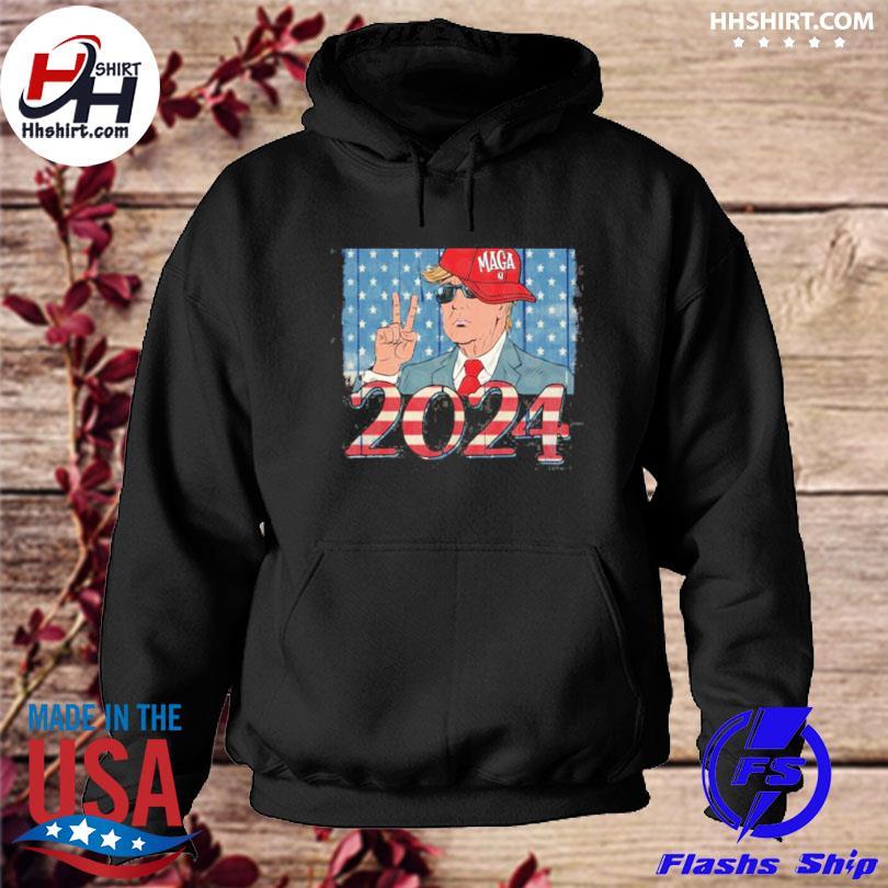 Donald Trump maga 2024 hoodie