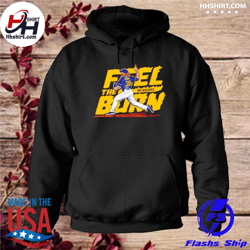 Feel the burn milwaukee hoodie