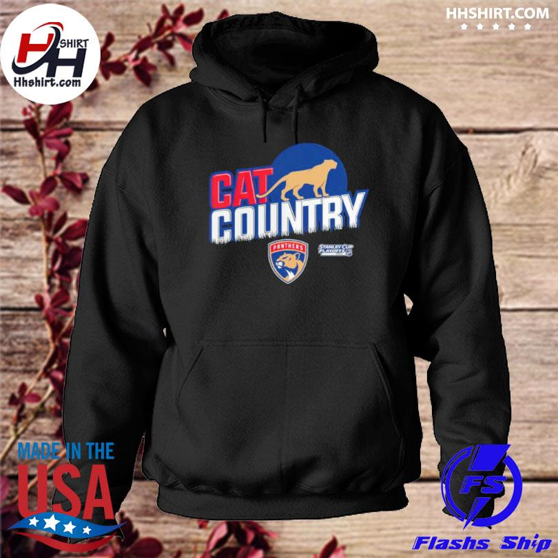 Florida panthers stanley cup cat country hoodie
