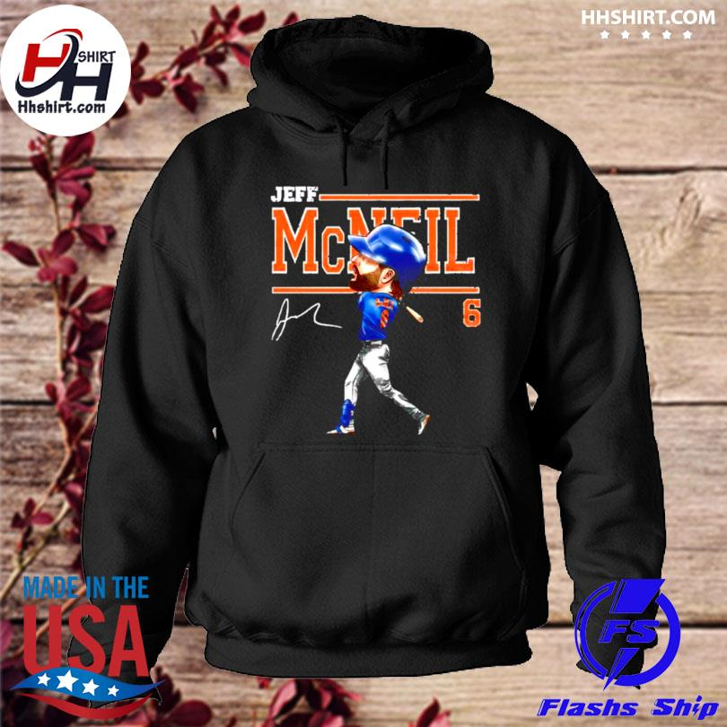 Jeff mcneil 6 cartoon signature hoodie