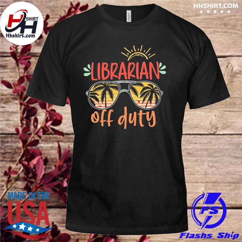Librarian off duty vintage shirt