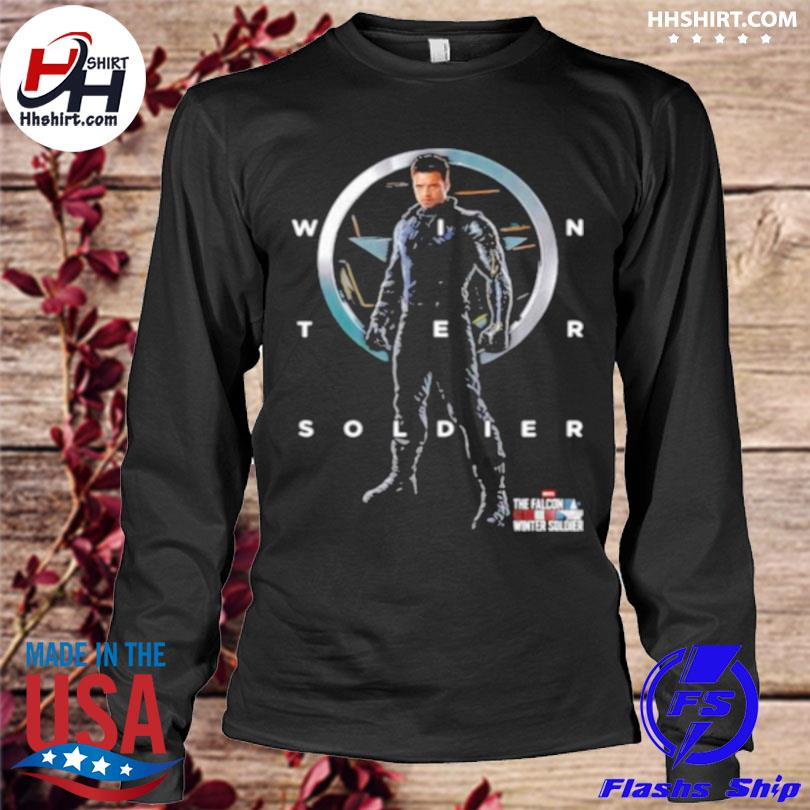 Official Winter soldier of marvel studios the falcon and the winter soldier longleeve