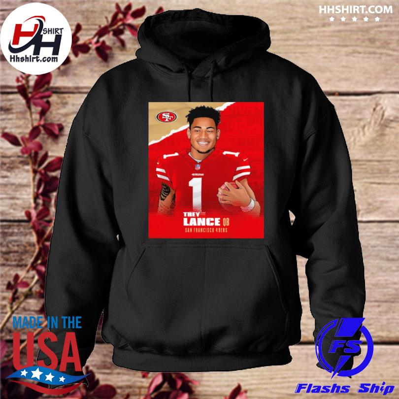 San francisco trey lance to the bay hoodie