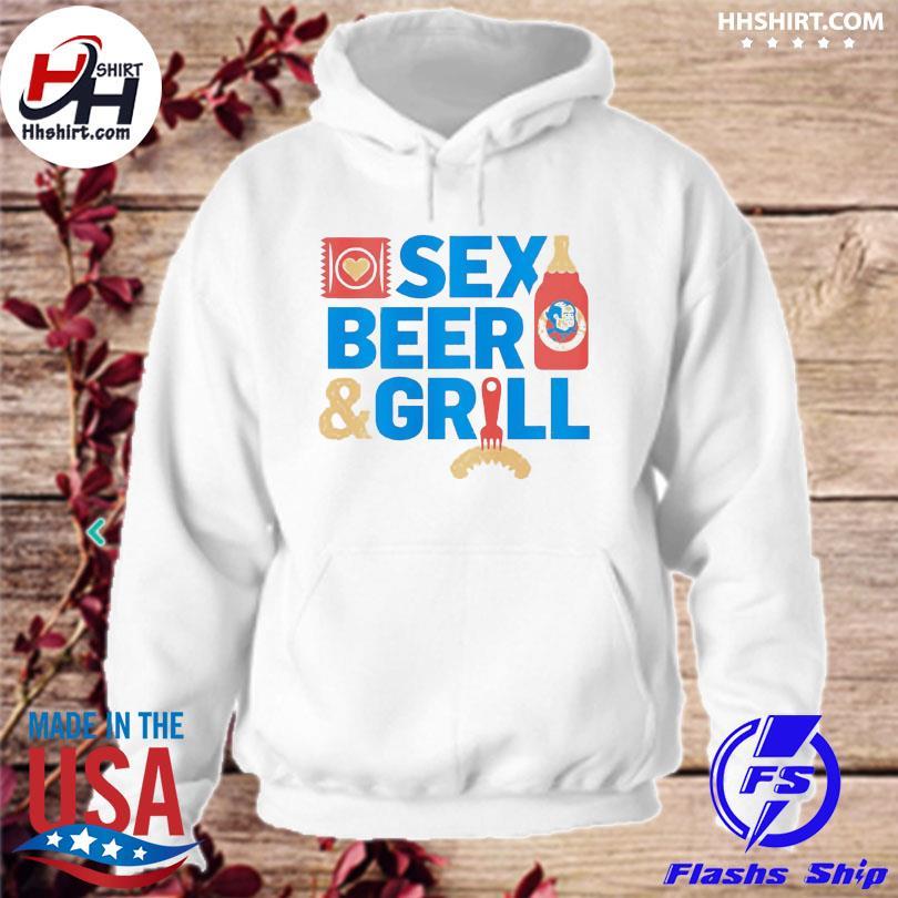 Sex Beer and girl hoodie