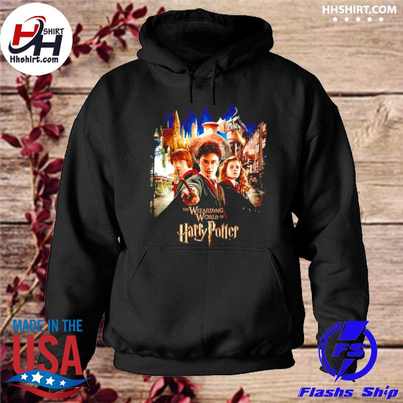 The wizarding world of harry potter hoodie