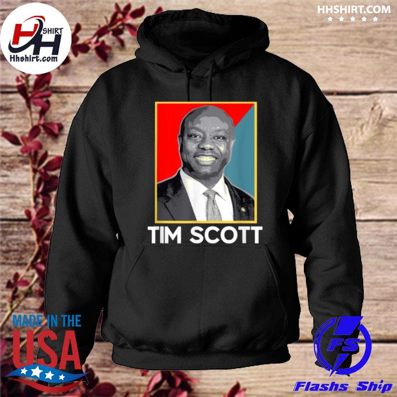 Tim scott 2024 for president election hoodie
