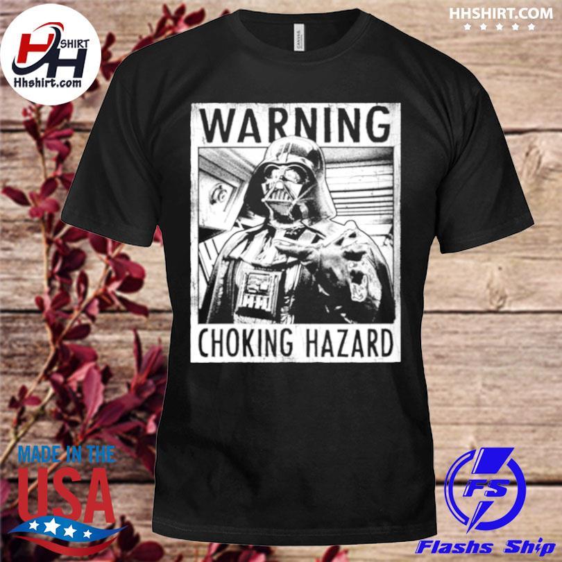 Warning choking hazard shirt