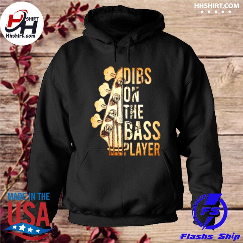Guitar dibs on the bass player s hoodie