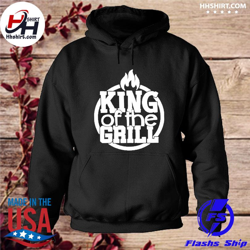 King of the grill summer bbq s hoodie