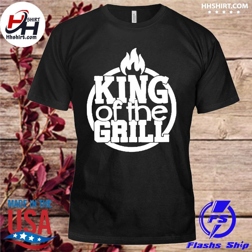 King of the grill summer bbq shirt