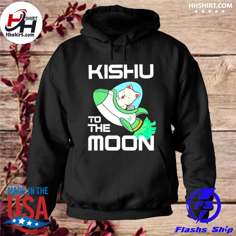 Kishu to the moon crypto kishu inu coin s hoodie