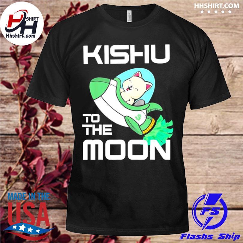 Kishu to the moon crypto kishu inu coin shirt