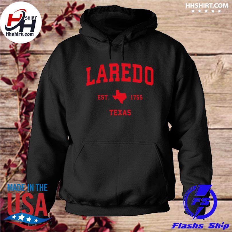 Laredo Texas tx est 1755 vintage s hoodie