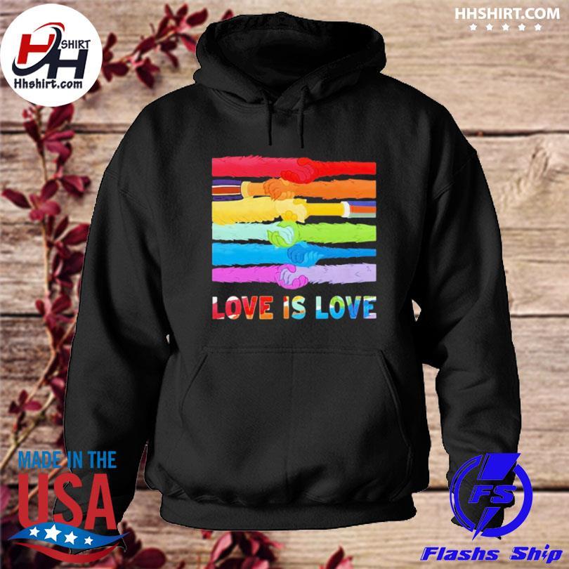 Lgbt love is love s hoodie
