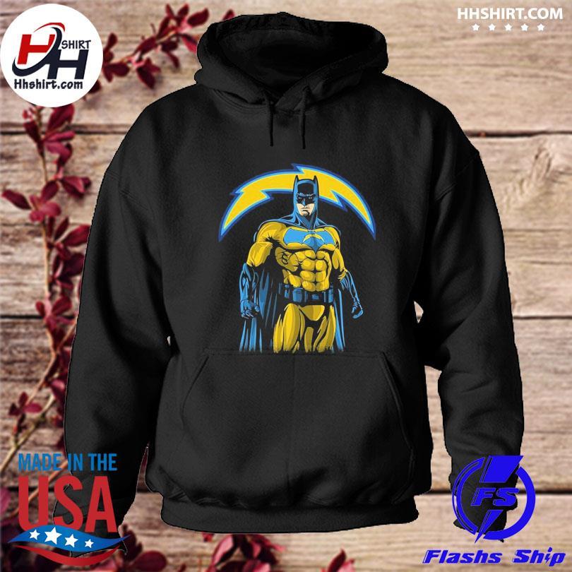 Los Angeles Chargers Batman Dc Marvel Jersey Superhero Avenger s hoodie