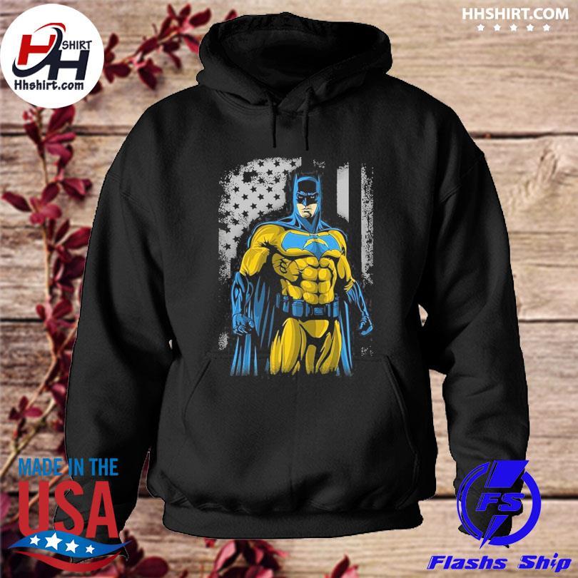 Los Angeles Chargers Batman Flag Dc Marvel Jersey Superhero Avenger s hoodie