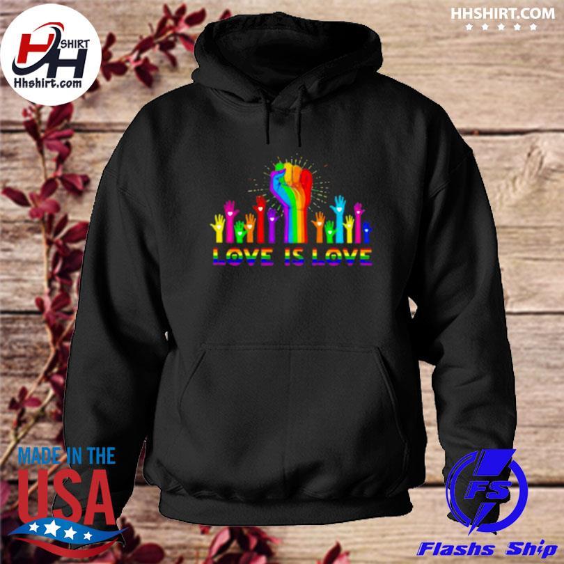 Love is love lgbt s hoodie