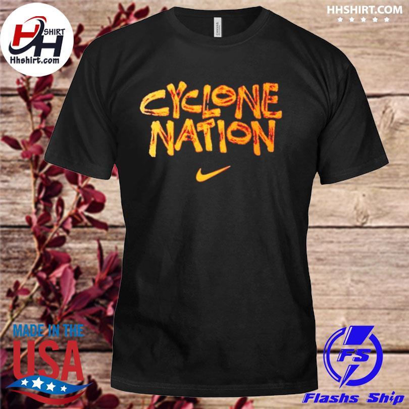 Nike cyclone nation iowa state cyclones shirt