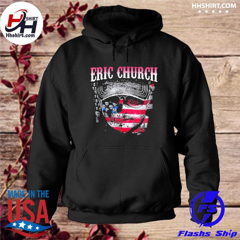 Official American flag erics church music legend s hoodie