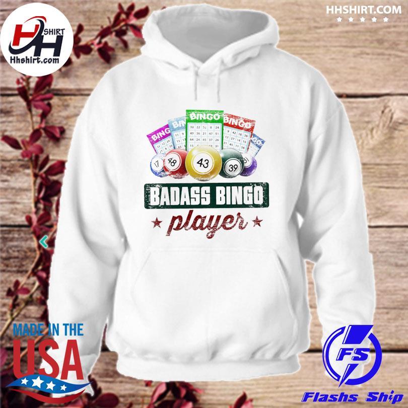 Official Badass bingo player s hoodie