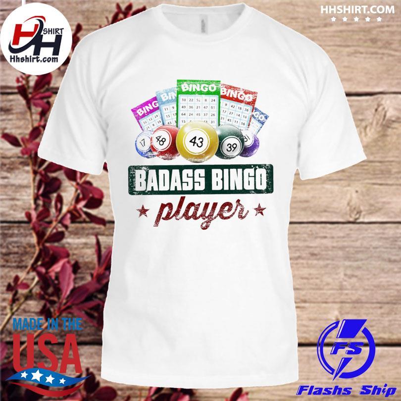 Official Badass bingo player shirt