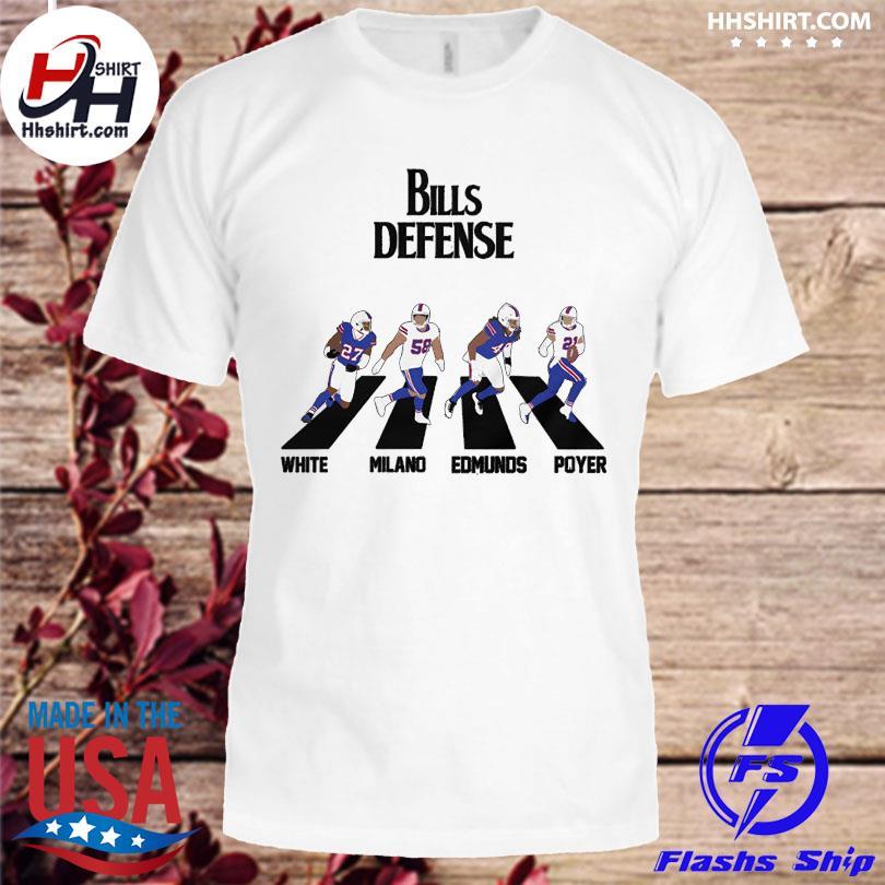 Official Bills Defense Abbey Road shirt
