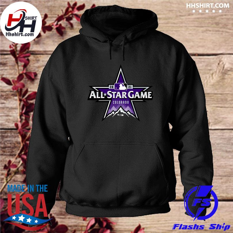 Official Colorado Rockies 2021 MLB All-Star Game Big and tall s hoodie