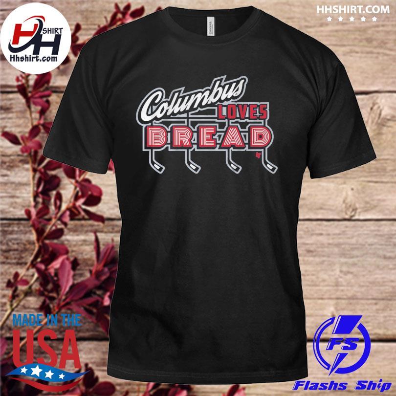 Official Columbus loves bread shirt