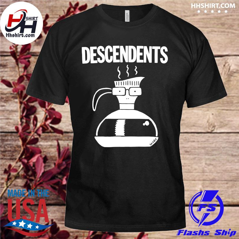 Official Descendents large coffee pot shirt