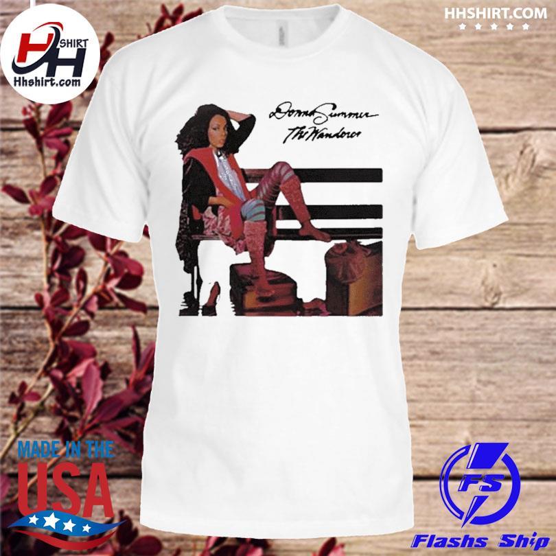 Official Donna summer the wanderer shirt