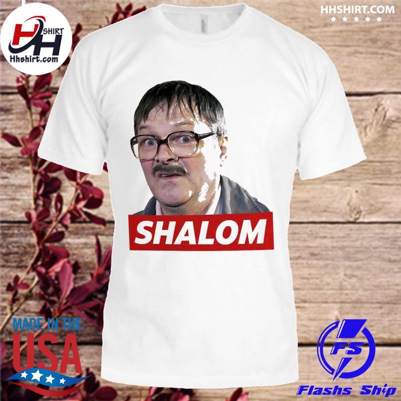 Official Friday night dinner jim bell shalom shirt