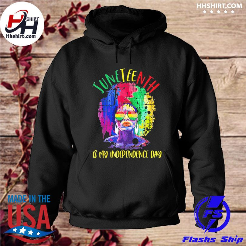 Official Juneteenth freedom day african American june 19th 1865 s hoodie