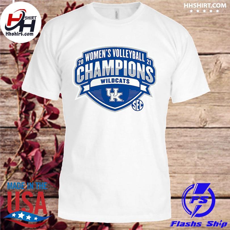 Official Kentucky Wildcats 2021 SEC Women's Volleyball Season Champions shirt