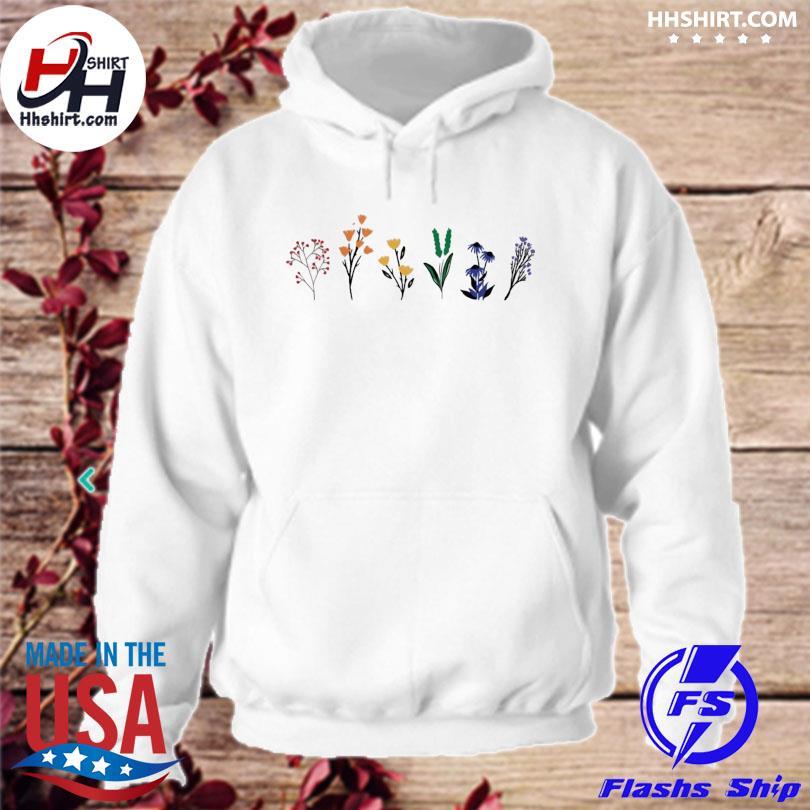 Official LGBTQ Wildflowers Shirt hoodie