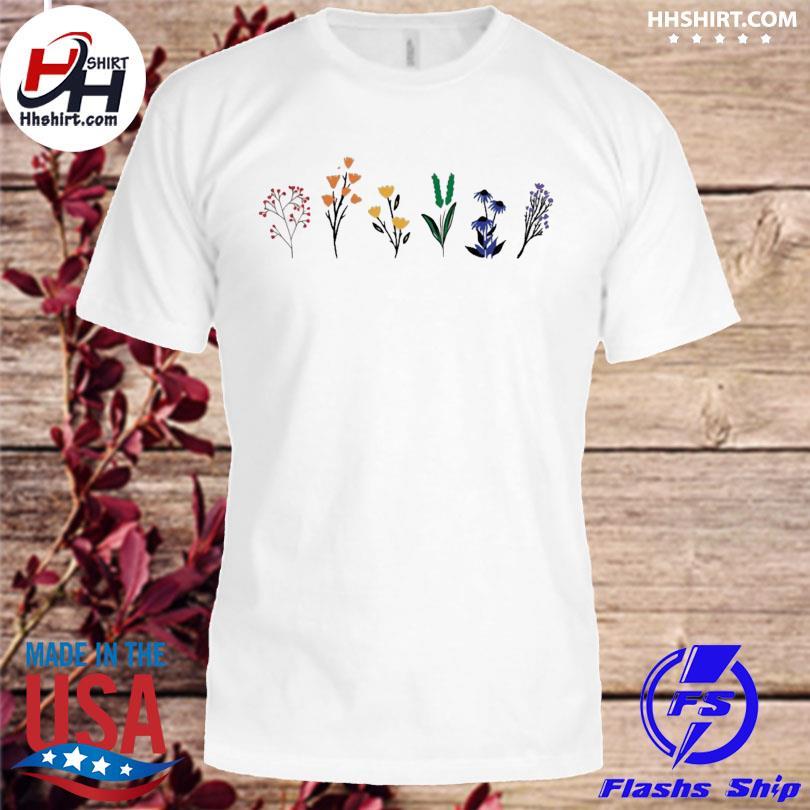 Official LGBTQ Wildflowers Shirt