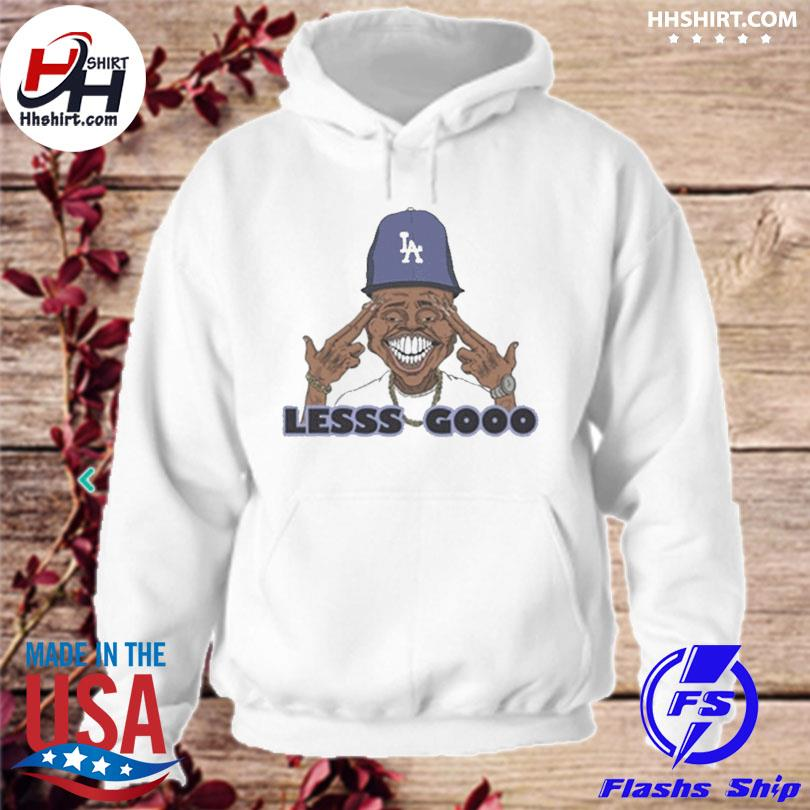 Official Los angeles dodgers lesss gooo dababy s hoodie