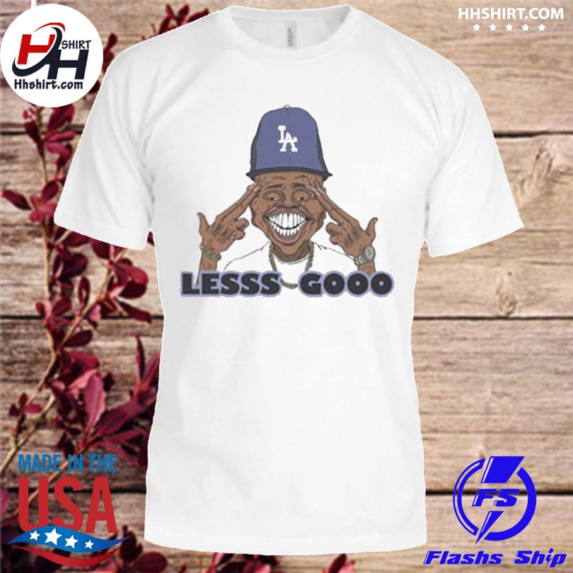 Official Los angeles dodgers lesss gooo dababy shirt