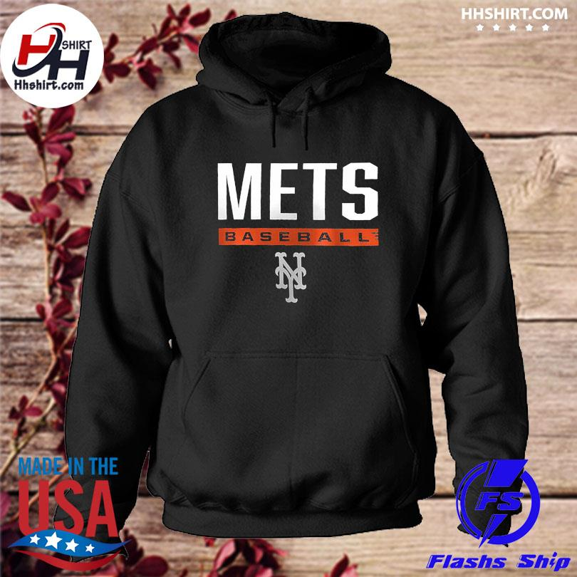 Official New york mets fanatics branded win striped s hoodie