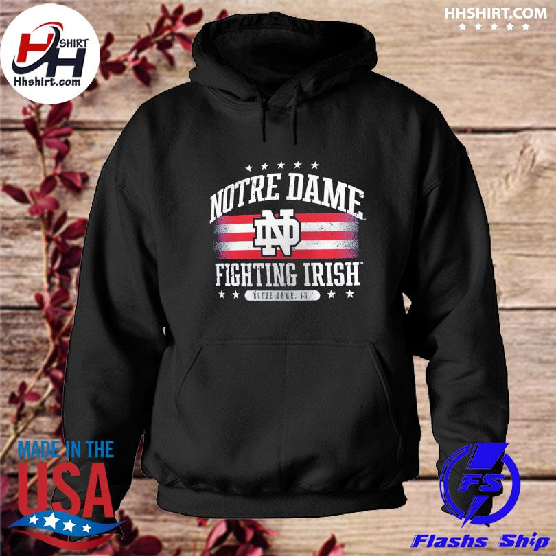Official Notre dame fighting irish fanatics branded American s hoodie
