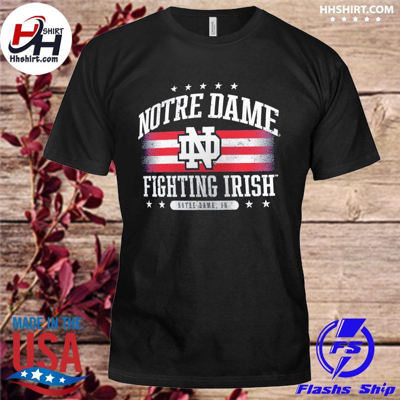 Official Notre dame fighting irish fanatics branded American shirt