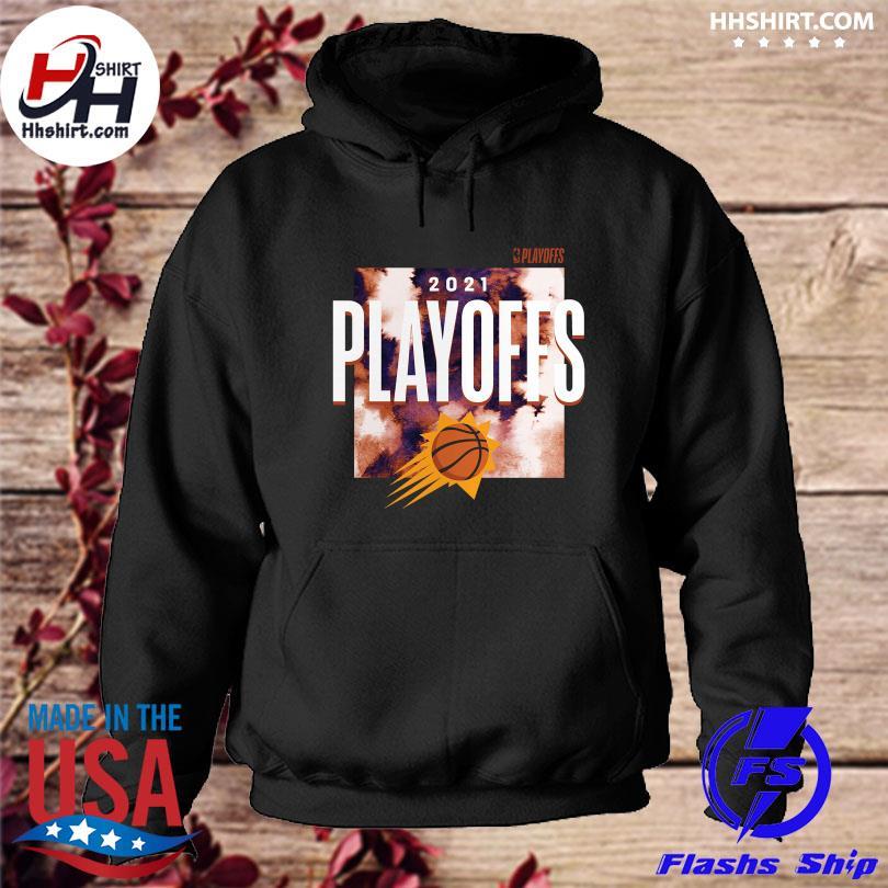 Official Phoenix suns fanatics branded 2021 nba playoffs bound tip-off s hoodie