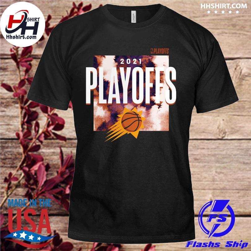 Official Phoenix suns fanatics branded 2021 nba playoffs bound tip-off shirt