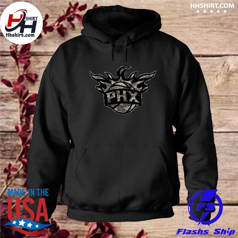 Official Phoenix suns fanatics branded cloak camo s hoodie